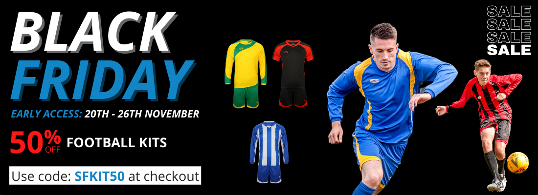 Black Friday Football Early Access Kits 1100x400 Offer Page 1